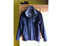 Mens berghaus outer jacket. Black size large.