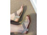 Well worn sandals