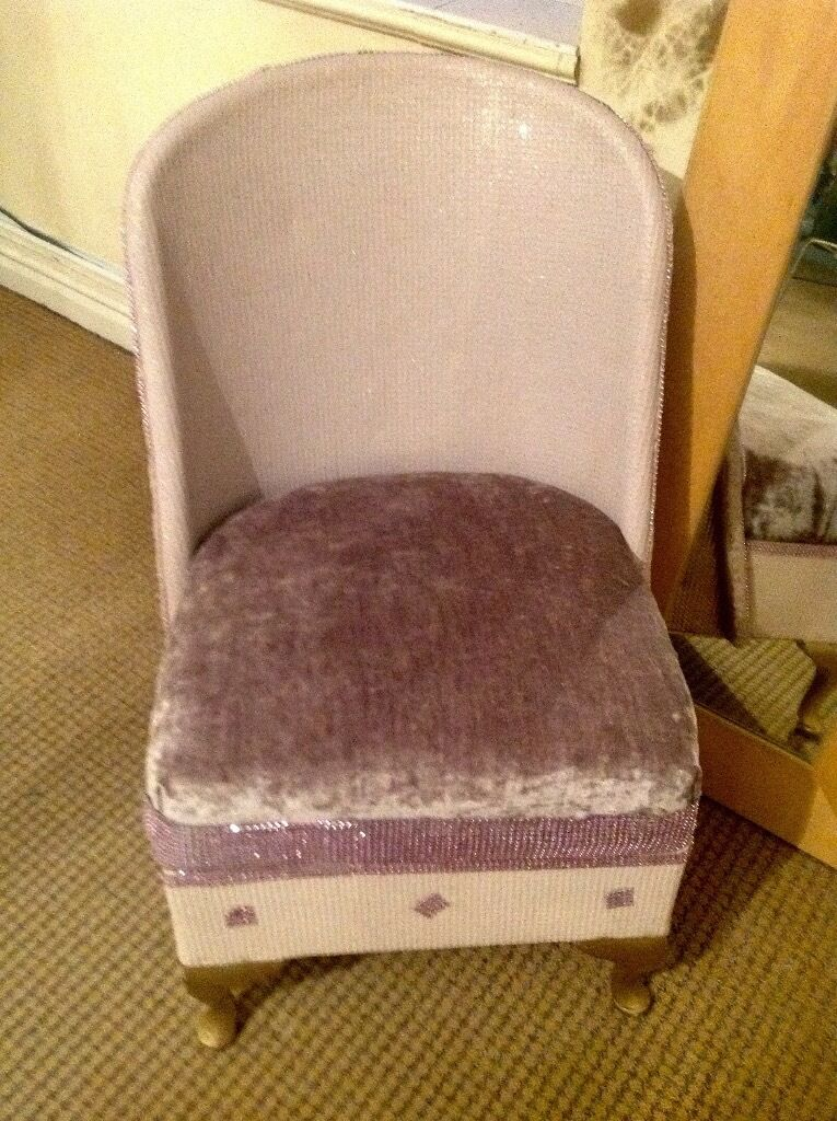 Vintage/shabby Chic Bedroom Chair/dressing Room Chair