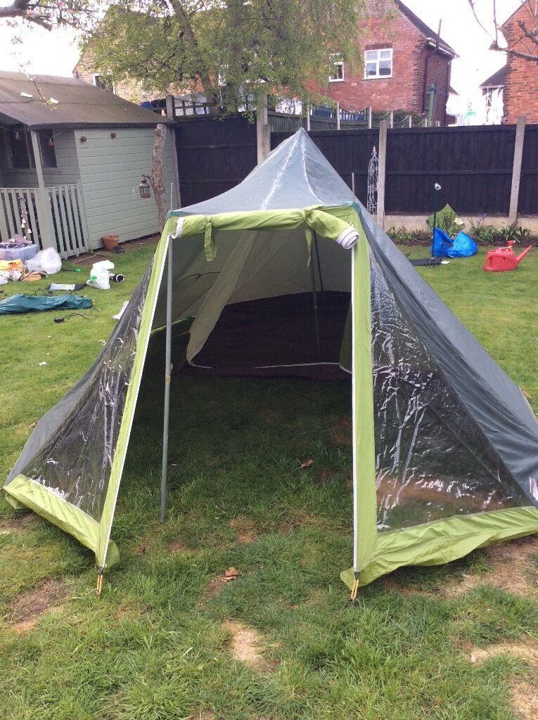 Lichfield Challenger 4 man tent. & Lichfield Challenger 4 man tent.   in Beeston Nottinghamshire ...