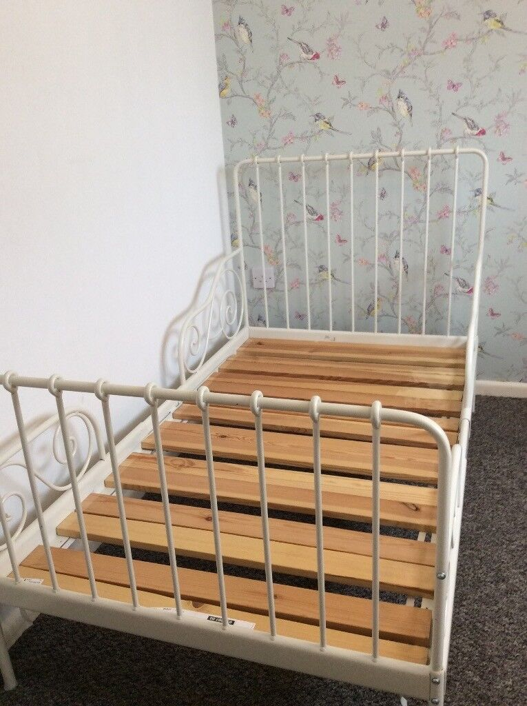Awesome Sultan Lade Ikea Minnen Extendable Toddler Bed Frame With Luroy Ikea .