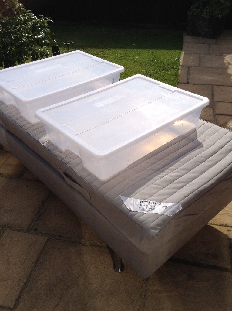 IKEA Single Bed As New (guest Bed) With Under Bed Storage   £50