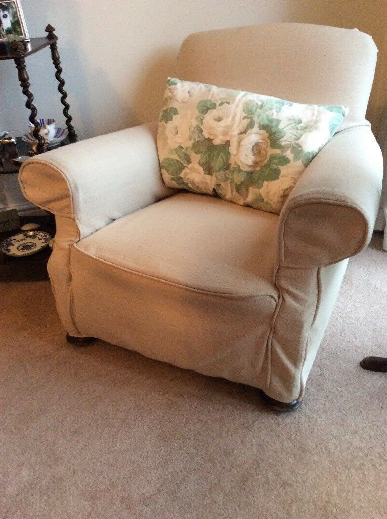 Attrayant Pair High Quality Armchairs. 1920 1950. Excellent Condition. New Fitted  Covers.