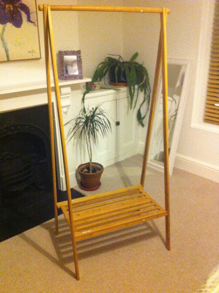 bamboo folding wardrobe  clothes rail from the futon  pany bamboo folding wardrobe  clothes rail from the futon  pany   in      rh   gumtree