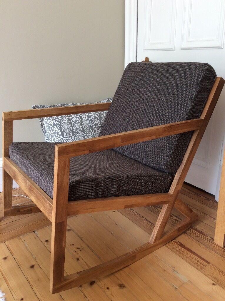 Solid Oak Rocking Chair Futon Company