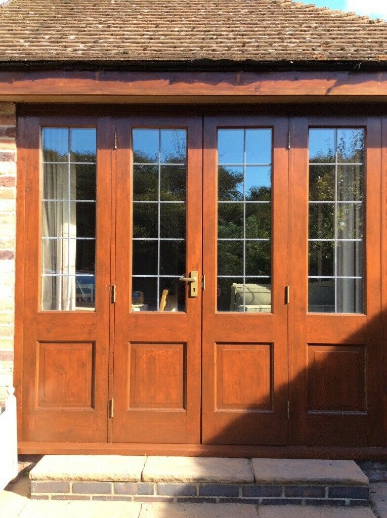 Double Glazed French Doors U0026 Side Panels. Suit Garage Conversion. 2270mm X  2060.