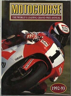 MOTOCOURSE Moto GP Superbike TT Annual Book 1992 - 1993