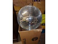 Disco ball used only as shop window display