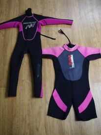 Kids wet suits