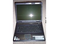 Acer TravelMate 5520 15.4 inch screen. For Spares or Repair.