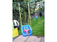 Little Tikes Outdoor or Indoor Swing 2-in-1