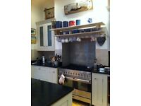 Duel fuel, double oven, 100cm Britannia Range Stainless steel