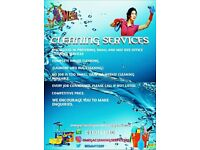 Domestic & Commercial cleaning services.