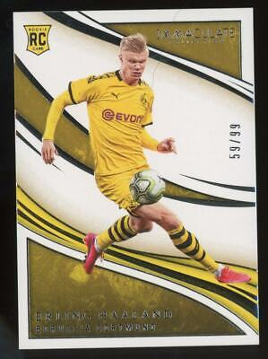 2020 Panini Immaculate Collection #51 Erling Haaland 59/99 RC Rookie