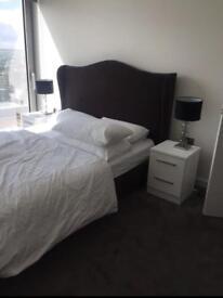 VERY CHEAP PRICE king size velvet bed frame