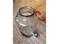 REDUCED! £15- 8L Original Kilner Drinks Dispenser (Clip Top)