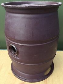 Old Plastic Beer Casks - Super Tough Garden Stool Seat