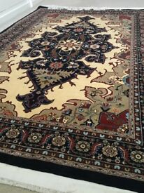2 identical Persian rugs