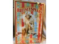 Britney Spears Circus Tour 2009 Poster Beautifully framed
