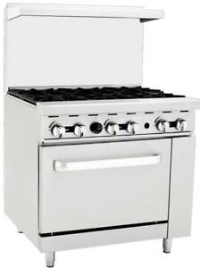 Commercial Stove for Sale - Ships from Langley - BEST Price on a Commercial Range!