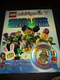 ***Mini lego figure encyclopedia with a figure great gift***