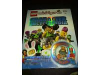 ***Mini lego figure encyclopedia with a figure great gift***