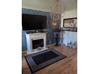 Beautiful 2 bed semi detached double driveway in boghall