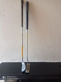 Childs Left Handed 7 Iron and Putter