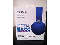 Sony Extra Bass Wireless Stereo Headset
