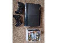 PS3 Slim and Games Bundle