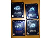 Collectible STAR TREK DEEP SPACE 9 complete DVD boxsets SERIES 1, 3, 6 and 7 - excellent condition