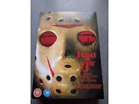 Friday 13th box set - complete 8 movies
