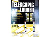 Builders Brand 3.75m telescopic ladder