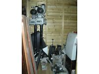 16mm Debrie Projectors + spares and lots more any offer considered