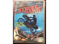 DVD street hawk the movie cult 80's classic Airwolf knight rider blue thunder first was street hawk