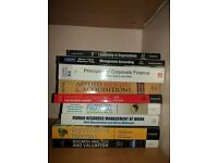 UNIVERSITY OF MANCHESTER MBA BOOKS FOR SALE