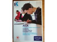Kaplan ACCA P4 Advanced Financial Management Study Text 2017-18