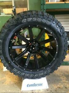 Brand New Mud Tires / 10 ply LOAD E Snowflake Rate) Full Warranty - We are THE Comforser Importer BUY DIRECT - FROM $114