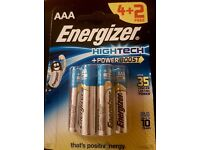 Energizer Batteries - Bulk Sale - x72 - Hightech Power Boost - AAA - Industrial Quality
