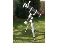 Sky-Watcher Reflector Telescope With EQ5 Mount, User Manual and Lens accessories