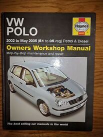 Haynes Manual Volkswagen VW Polo 2002-2009 NEW 4608