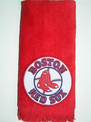 Boston Red Sox  MLB baseball TOWEL golf bosox FREE SHIP vintage applique