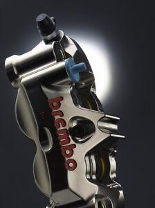 Brembo GP-4RX Front Brake Caliper Kit 130mm Yamaha YZF R1 2007-14