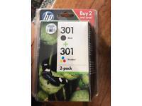 HP 301 ink brand new