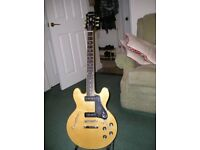 Epiphone 339 pro guitar