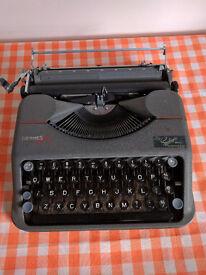 Vintage Hermes Baby Typewriter