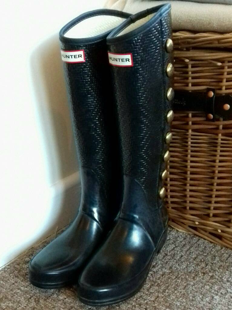 new concept 8355a 5894a Hunter Grosvenor Regent Wellington Boots 4 | in Barrow Upon Soar,  Leicestershire | Gumtree