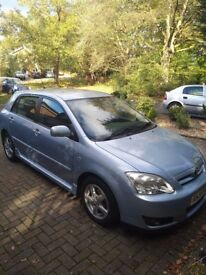 Very Good Condition Toyota Corolla 1.4l 2005, Manual. Low Mileage