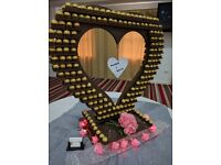 Burj al Ferrero Rocher tower birmingham coventry midland Pyramid Heart Swan Butterfly Display Stand