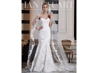 Ian Stuart Neptune Wedding Dress - UK Size 12
